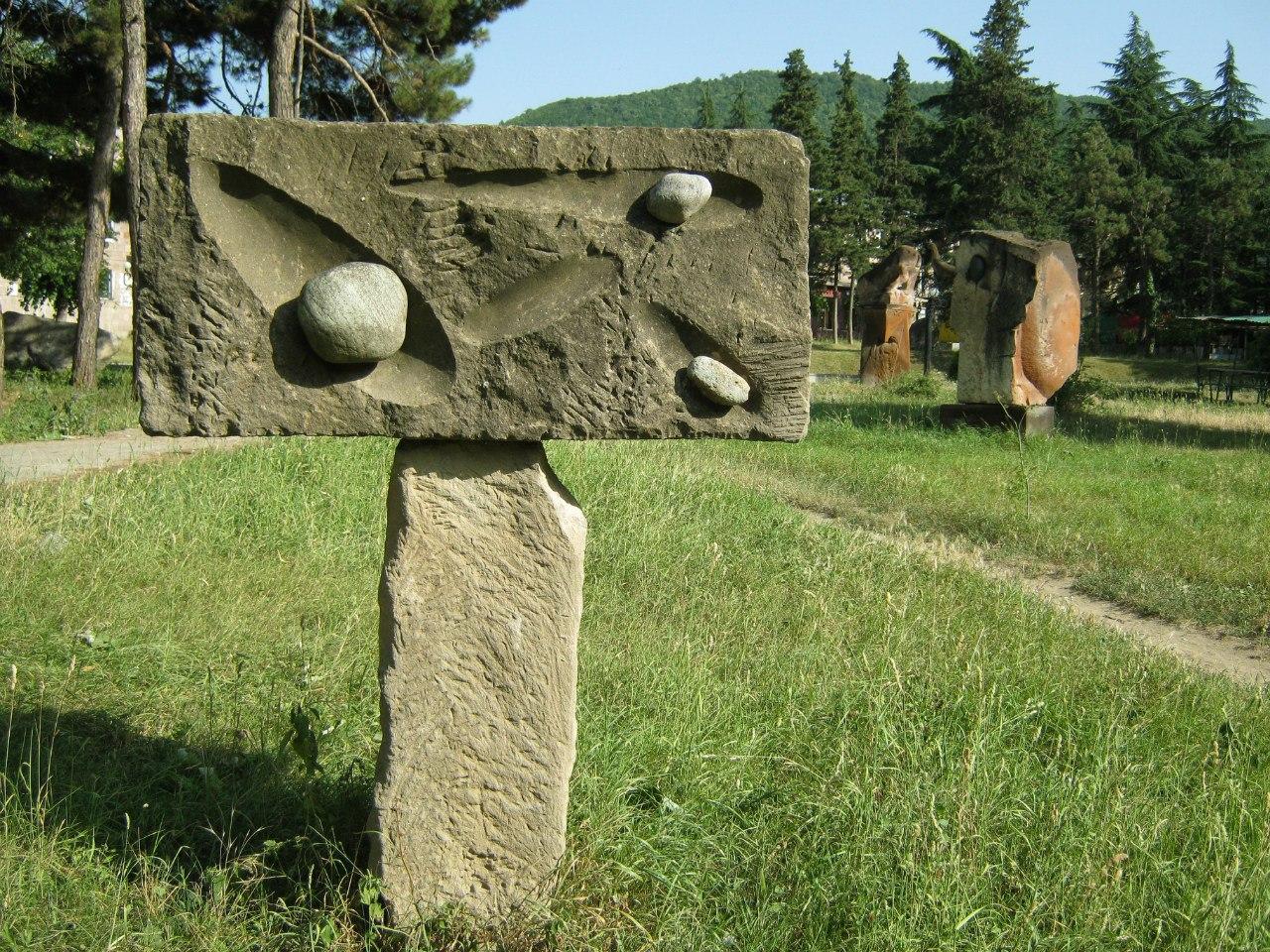 парк скульптур в Иджеване