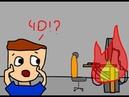 Сгорел компьютер | Анимация