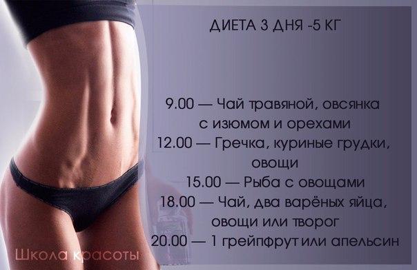 Самая быстрая диета на 15 кг
