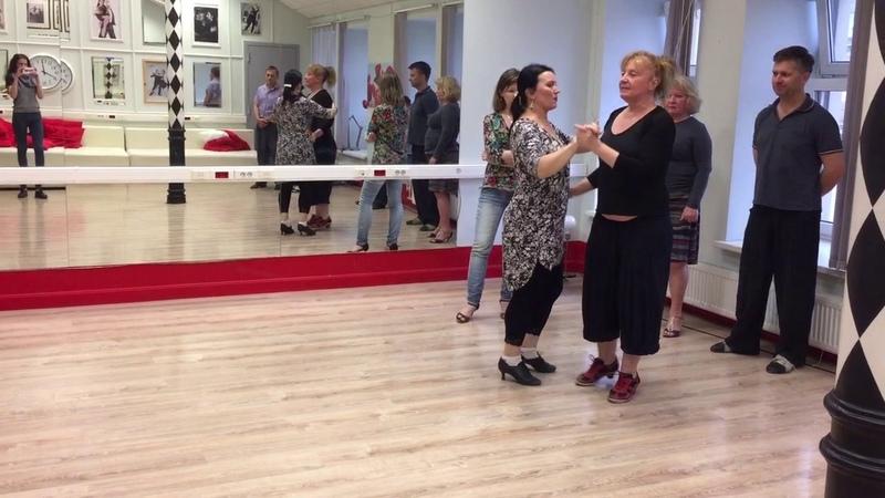 Tango steps. Техника TTS (Dana Frigoli). Con Elvira Malishevskaya
