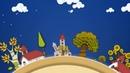 Футаж - заставка для создания детских клипов. Сказочный город. Все для видеомонтажа 1080