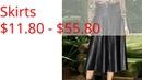 Skirts $11.80 - $55.80