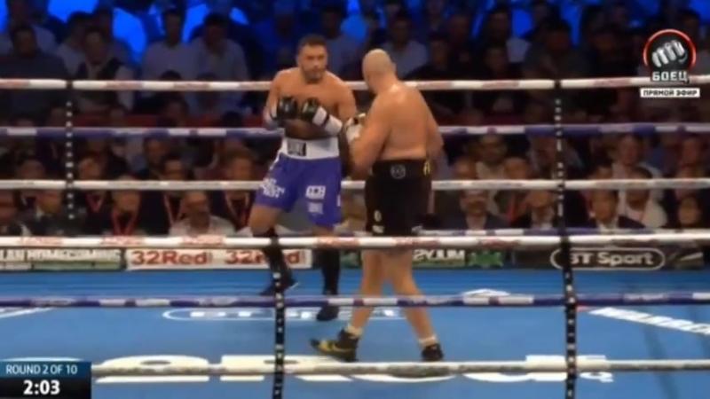 Тайсон Фьюри vs Сефер Сефери (Tyson Fury vs Sefer Seferi) 09.06.2018