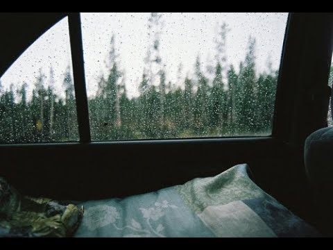 The Night We Met while driving in the rain