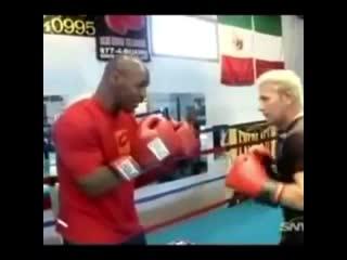 🎬Урок бокса от дяди Миши Тайсонова🥊