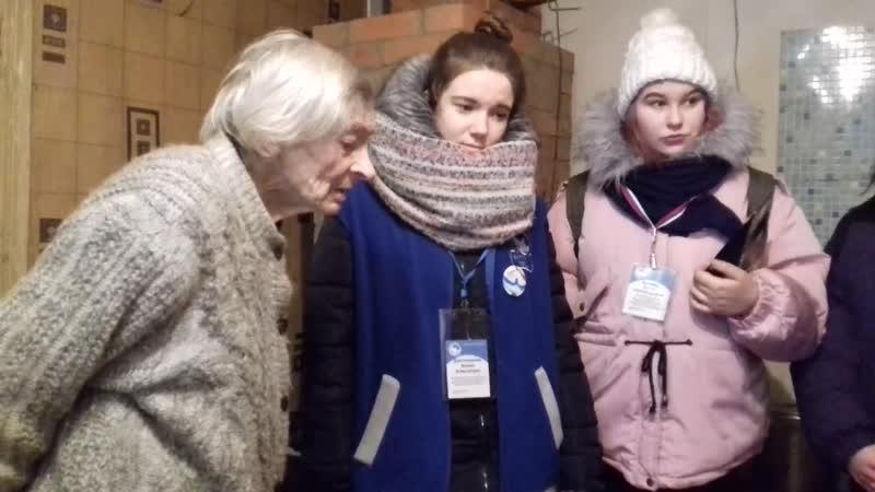 Воспоминания Маркевич Валентины Васильевны -ветеран Великой Отечественной войны