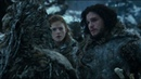 Game of Thrones (S03E05) - Jon Snow break his vows with Ygritte