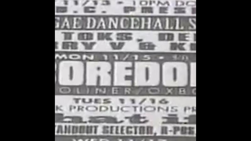 Boredoms: US Tour (1993)