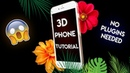 3D Phone Tutorial After Effects No Plug-ins Needed