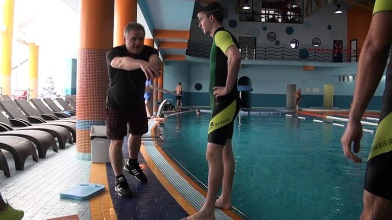 Мастер класс по плаванию с Постовым А.И.Кишинев Ниагара центр 28