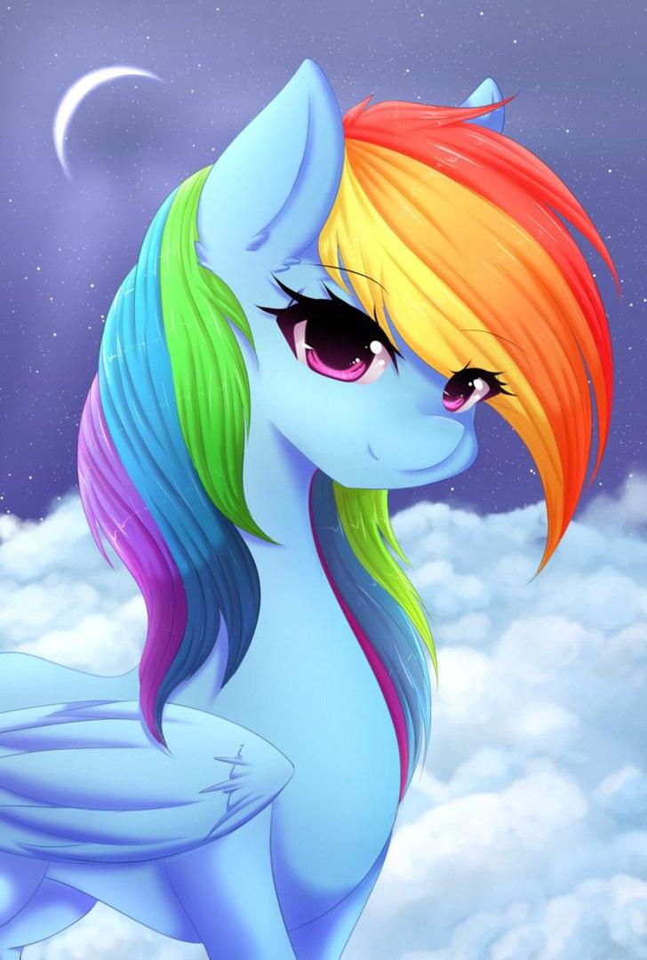 Радуга Дэш Маленькие игры (Rainbow Dash Mini Game)