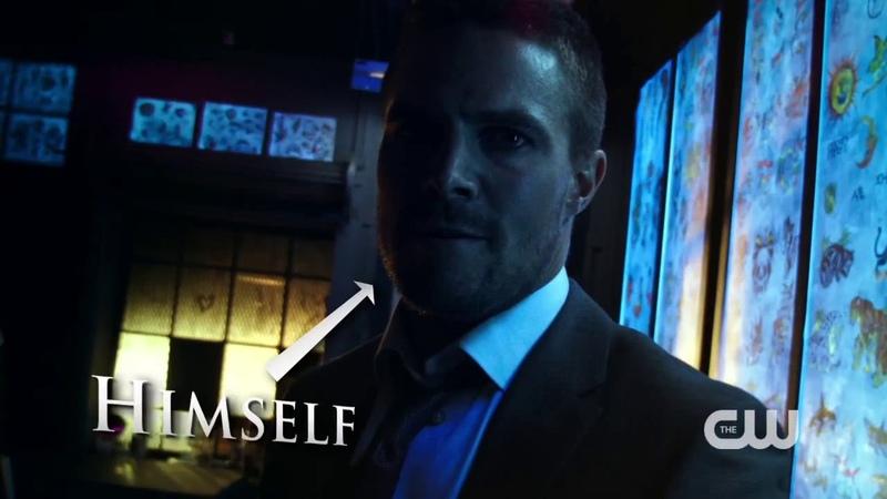 Стрела Arrow 3 сезон Съёмки Репетиция трюков 6 HD