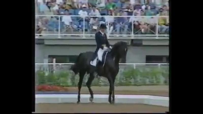 Кира Керкланд и Эдинбург Олимпиада в Барселоне 1992 год