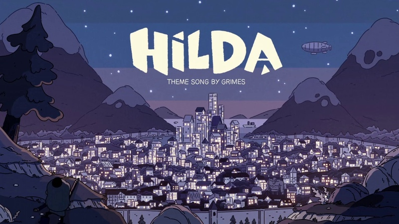 Hilda Intro l Oppening l Хильда Заставка l Netflix Series l HD