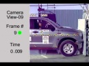 Crash Test 2011   Toyota Tundra Double Cab AWD Full Frontal NHSTA
