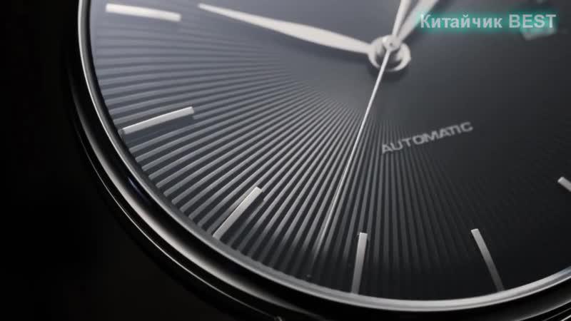Новые оригинальные механические часы Xiaomi TwentySeventeen с сапфировой поверхностью и кожаным ремешком за 5,500₽!