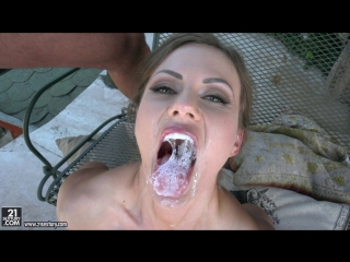Tina kay (the fittest ass)[2018, a2m, anal, brunette, natural tits, straight, cum in mouth, swallow, 1080p]