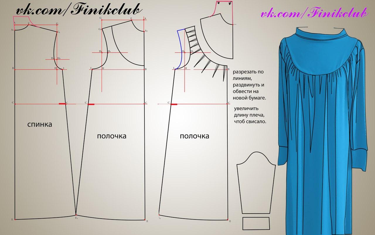 Как сшить платье по простому 57