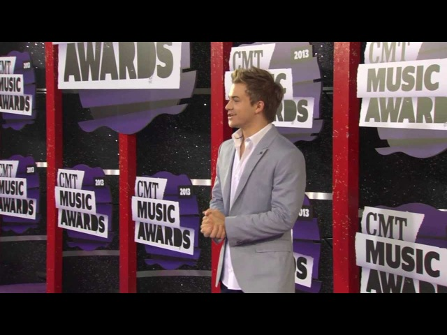 2013 CMT Music Awards Red Carpet - Hunter Hayes