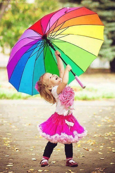 — А зонтик у меня не для дождя.