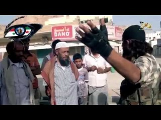 the Islamic State fighters save the yemeni civilians and tell them why they fighting