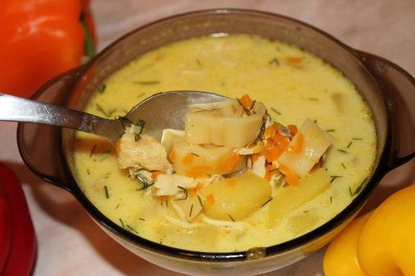 Суп куриный в мультиварке пошаговый рецепт