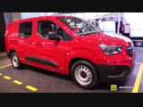 2019 Opel Combo - Exterior and Interior Walkaround - 2018 IAA Hannover