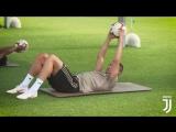 Первая тренировочная неделя Роналду и других игроков сборных в