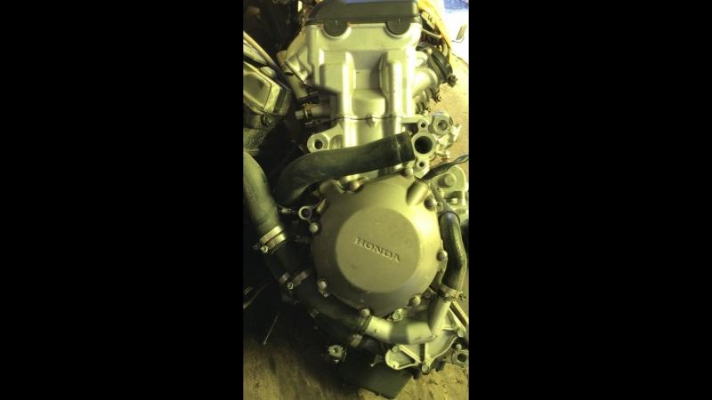 Проверка контрактного двигателя Honda CBR1000RR (SC57E) перед отправкой клиенту   motod.ru
