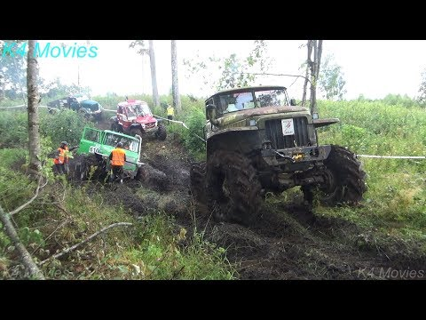 4x4 Off-Road Truck Race   Madona 2018