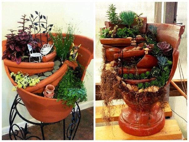 Идеи для домашних цветов своими руками 63