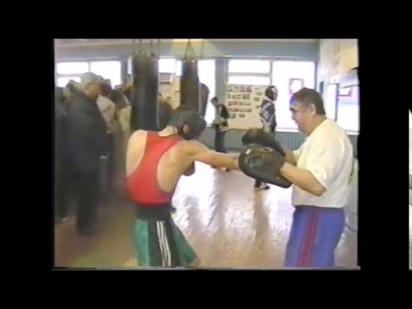 Наставление тренера Э Е Виноградова перед боем против левши 2000 г