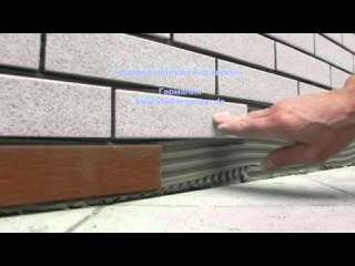 Отделка плиткой под кирпич, имитация кирпичной кладки