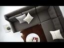 Ghế sofa góc nỉ phong cách Bắc Âu - Nội thất Đăng Khoa
