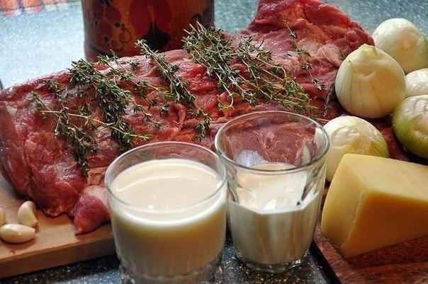 Мясо по-французски Приготовить мясо так чтобы оно получилось
