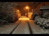Снег во дворе Арвид