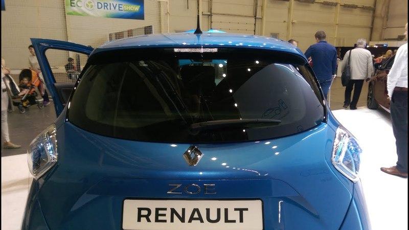 Renault ZOE 2018 запас хода - 400 км электромобиль