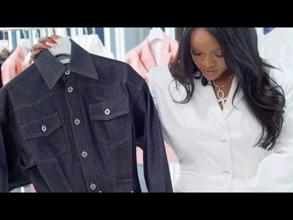 Rihanna shows us her first FENTY collection | Vogue Paris