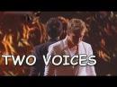 X-Фактор 4 (1 прямой эфир) TWO VOICES - Feel(Robbie Williams cover)