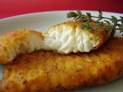 Запечённая рыба полезней жареной