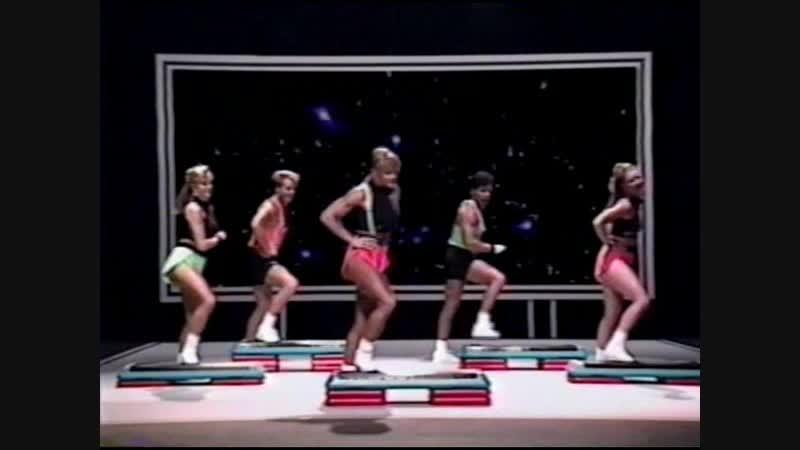 Cory Eversons Step Training Video аэробика, шейпинг, фитнес