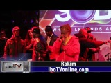 Rakim Performs @ SOBs with DJ Clark Kent, DJ Kool Herc, &amp Michael K. Williams