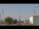 Запуск транспортного корабля «Прогресс МС-07» с грузами для МКС. #Прямаятрансляция с космодрома «Байконур»