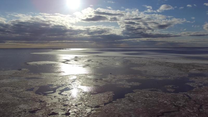 Совсем крайний лёд 2.парк Дубки.