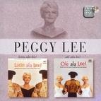 Peggy Lee альбом Latin Ala Lee/Ole Ala Lee