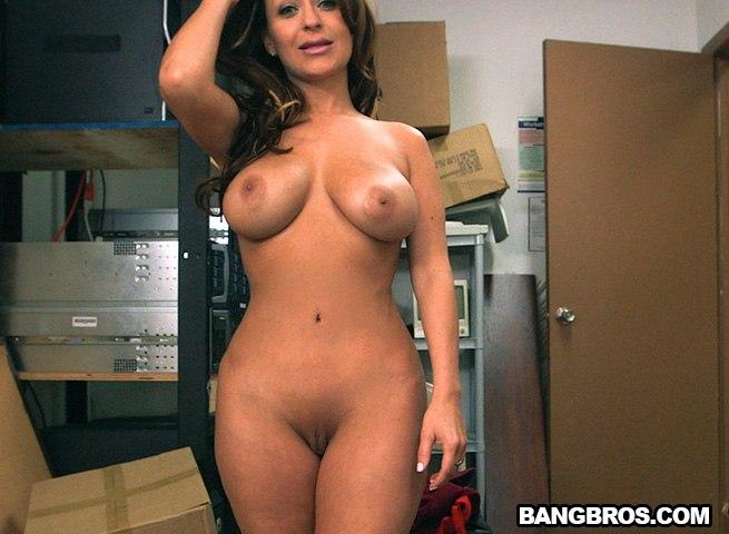 Жесткий секс в гримерке Vanessa Luna