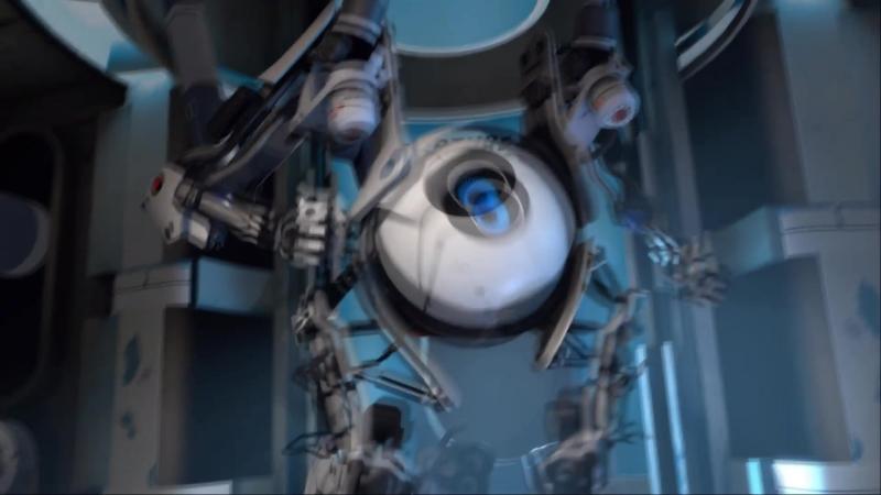 Если бы Картунчик озвучивал игру Portal 2