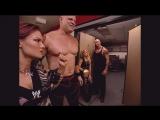 Kane, Lita Trish Stratus Backstage Raw 08.30.2004