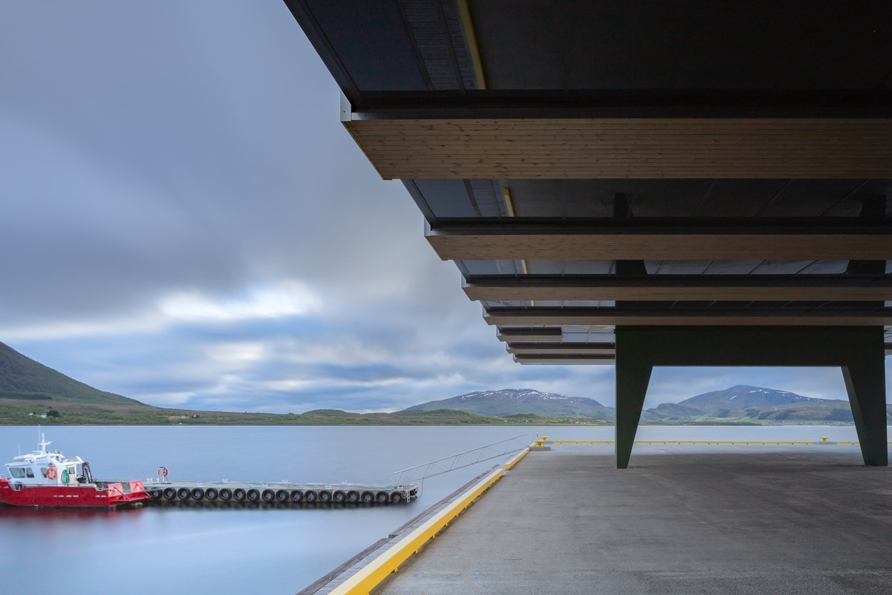 Рыболовецкий комплекс по проекту Snøhetta