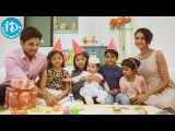 Allu Arjun and Sneha with Son Allu Ayaan - Childrens Day Celebrations